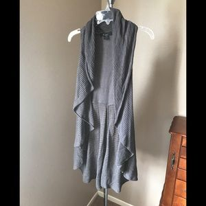Gray Knit Vest